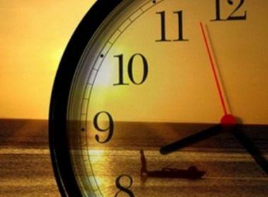 Horário de verão termina à meia-noite