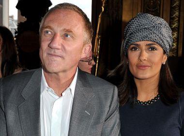 Marido de Salma Hayek doa R$ 400 milhões para reconstrução da catedral Notre-Dame