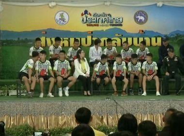 Meninos de caverna na Tailândia dizem que escavaram para tentar escapar