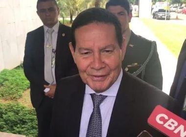 'Até o final do ano, uns R$ 20 bi devem ser liberados', diz Mourão