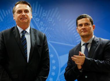 Bolsonaro aciona Moro para que PF investigue citação de seu nome no caso Marielle