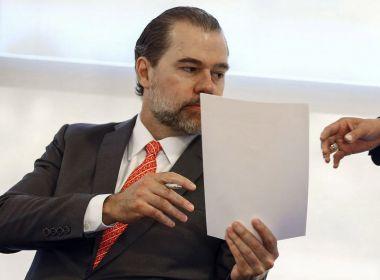 Toffoli anula decisão que lhe deu acesso a dados sigilosos de 600 mil