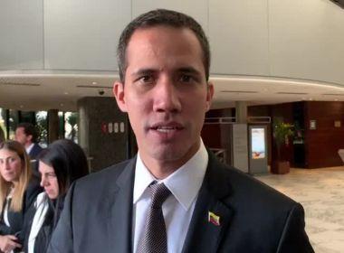 Guaidó diz que há infiltrados de Cuba e da Venezuela nos protestos na América do Sul