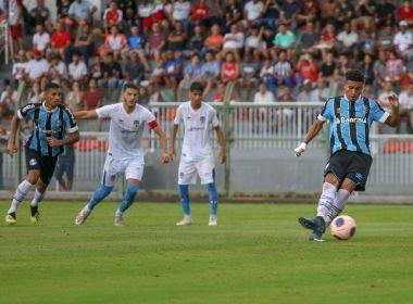 Autor de primeiro gol do Grêmio na Copinha tem multa de R$ 113 milhões