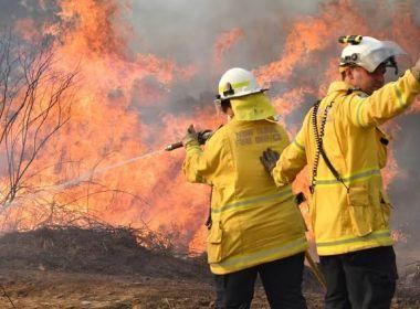 Brasileiros na Austrália tiveram que sair às pressas de casa e sofrem com fumaça