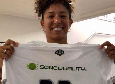 Santos anuncia retorno da atacante Cristiane para sua 3ª passagem
