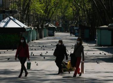 Em lockdown total há duas semanas, Espanha registra menor número de mortes