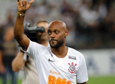 Vagner Love rescinde contrato e deixa o Corinthians
