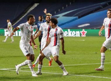 Neymar dá passe, PSG vira sobre Atalanta e vai à semi da Champions League