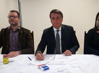 Nossa cloroquina chegou na China, diz Bolsonaro ao comemorar recomendação