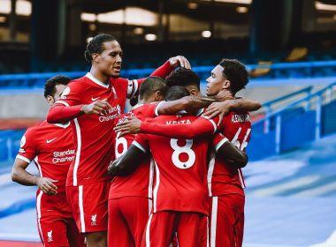 Com 2 gols de Sadio Mané, Liverpool bate Chelsea no Campeonato Inglês