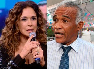 Processado por injúria, Isidório não comparece a audiência de conciliação com Daniela Mercury