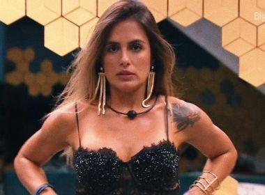 Em paredão com Paula, baiana Carol Peixinho é eliminada do 'BBB' com 54,67% dos votos