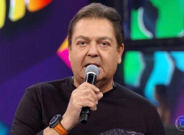 Durante quadro do 'Domingão', Fausto Silva sinaliza fim próximo de programa