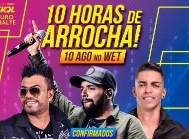 5655b8a7a Devinho Novaes confirma show no  10 Horas de Arrocha   festa terá Silvanno  Salles e Unha