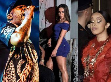 Anitta doará direitos autorais de música com Cardi B para família de Mr. Catra; entenda