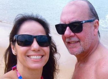 Atores Paulo César Grande e Claudia Mauro reatam casamento após 15 dias separados