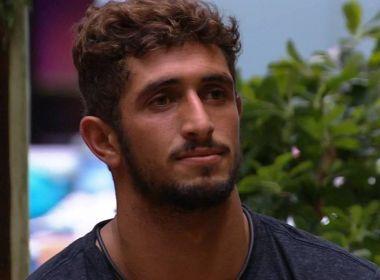 Com 75,54% dos votos, Lucas Chumbo é o primeiro eliminado do 'Big Brother Brasil'