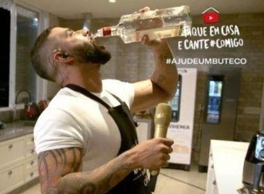 Conar abre processo contra Gusttavo Lima e Ambev por abuso de bebida alcoólica em live
