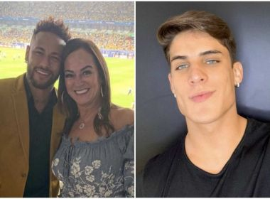 Após gritos e braço com sangue, namorado da mãe de Neymar é levado para hospital