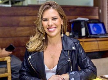 Camila Marinho éafastada da TV Bahia após diagnosticopositivo da Covid-19