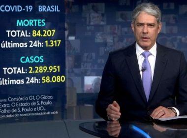 Mulher processa Globo alegando que emissora causa pânico com números da pandemia