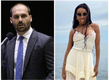 DRª THELMA, DO BBB, REBATE EDUARDO BOLSONARO