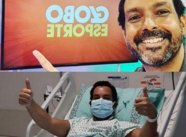 Jornalista da TV Bahia, Sergio Pinheiro recebe alta após 12 dias internado com Covid-19