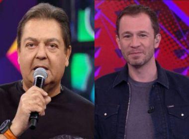 Faustão é internado com infecção urinária e Tiago Leifert apresenta 'Domingão'