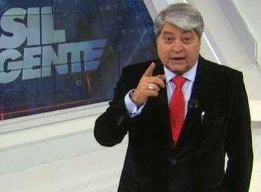 Datena anuncia saída da TV para concorrer à Presidência em 2022