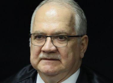 Fachin vota contra concessão da liberdade provisória a Lula