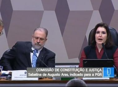 Indicado para PGR, Augusto Aras chega ao Senado para ser sabatinado na CCJ