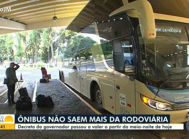 TJ-BA nega liminar de empresa de ônibus e mantém rodoviárias fechadas no estado