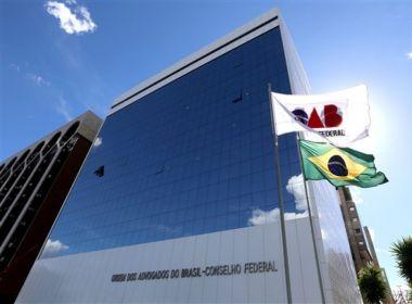 OAB move ação no STF contra decreto presidencial que mudou composição do Conad