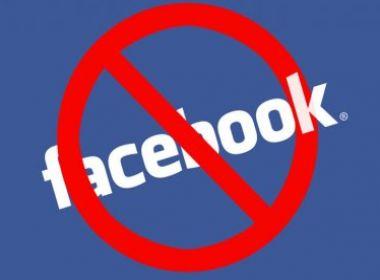 Resultado de imagem para Facebook proibido