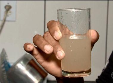 Itacaré: Moradores reclamam de água amarelada e com mau cheiro