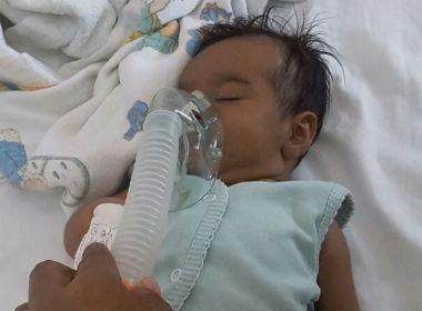 Mãe de Ubatã apela por transferência de bebê; criança nasceu com problema no coração