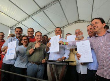 Em Jacobina, governo autoriza obras de policlínica para atender 17 municípios