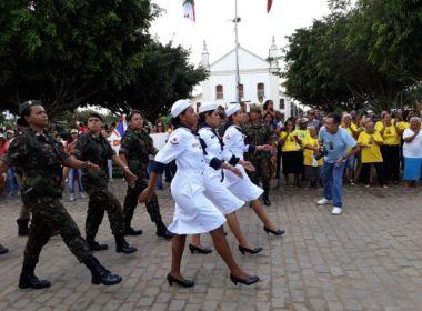 Feira: Desfile de 2 de Julho destaca heroína feirense em distrito que homenageia mulher