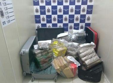 Conquista: Polícia incinera mais de 200 quilos de drogas