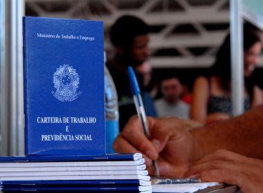 Bahia fecha agosto com saldo positivo de 4.864 vagas de emprego formal