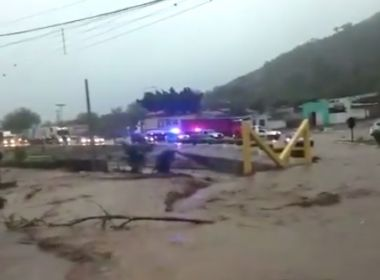 Milagres: Chuva causa estragos em 40 minutos de temporal: 'nunca vi isso', diz prefeito
