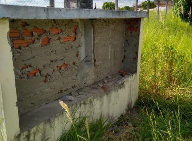 a0d468cd7 Itapetinga  SSP investiga vandalismo e roubo em galpão destinado a empresa  de calçados