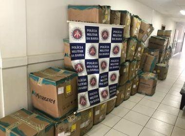 Porto Seguro: Dupla é presa com mais de três mil materiais roubados