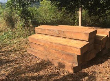 Itagibá: Carga com sete toneladas de madeira nativa da Mata Atlântica é apreendida