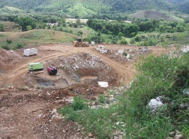 Mineradora é interditada por extração ilegal de quartzo em Itapebi
