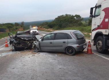 Jaguaquara: Dois motoristas morrem em colisão na BR-116; três ficam feridos