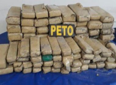 Polícia apreende 120 kg de maconha e 4 mil pedras de crack em Camaçari
