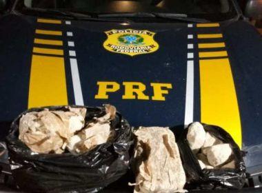 Santo Estevão: Caminhoneiro é preso com 50 kg de crack; veículo tinha documento falso
