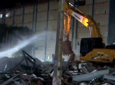 Itabuna: Após sentença, shopping popular começa a ser demolido